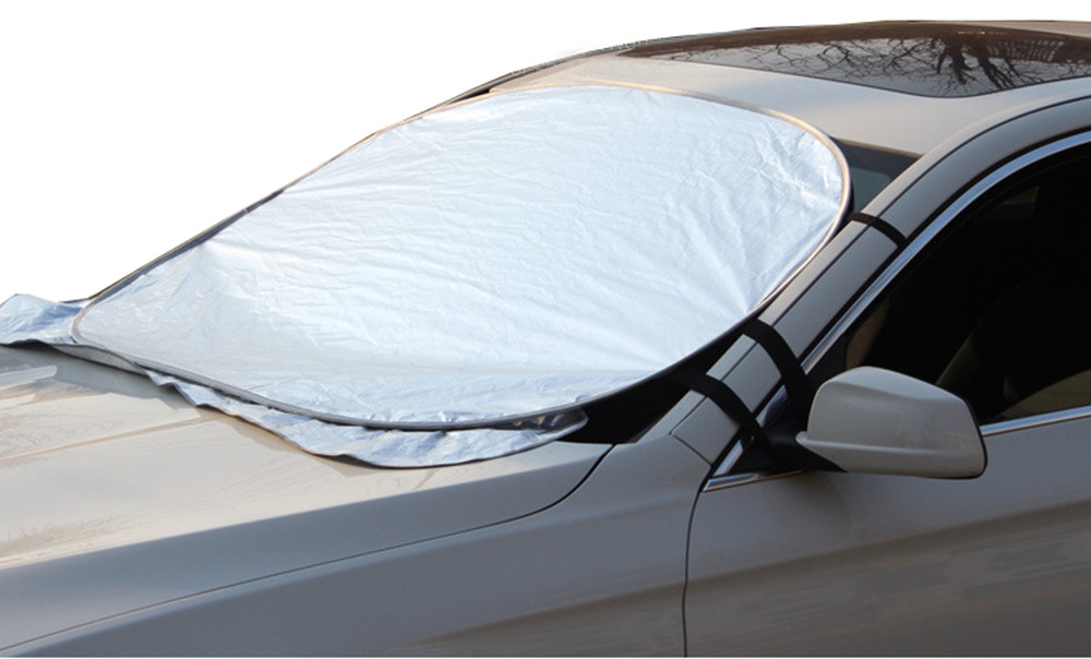 Image 2 - Car Sun Shade Auto Curtain Jumbo Foldable Auto Car SUV Sun Shade Visor Block Front Window Windshield Cover Sunshade Car-in Windshield Sunshades from Automobiles & Motorcycles