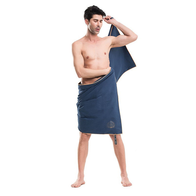 man in towel