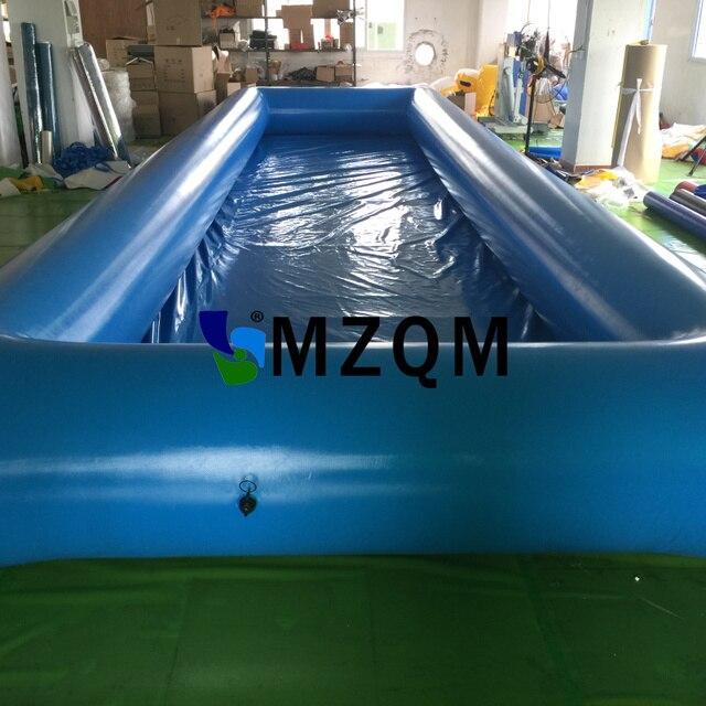 MZQM 10*3 Mt Outdoor Aufblasbare Wasserspiele PVC Plane Große Aufblasbare  Swimmingpool Für Erwachsene