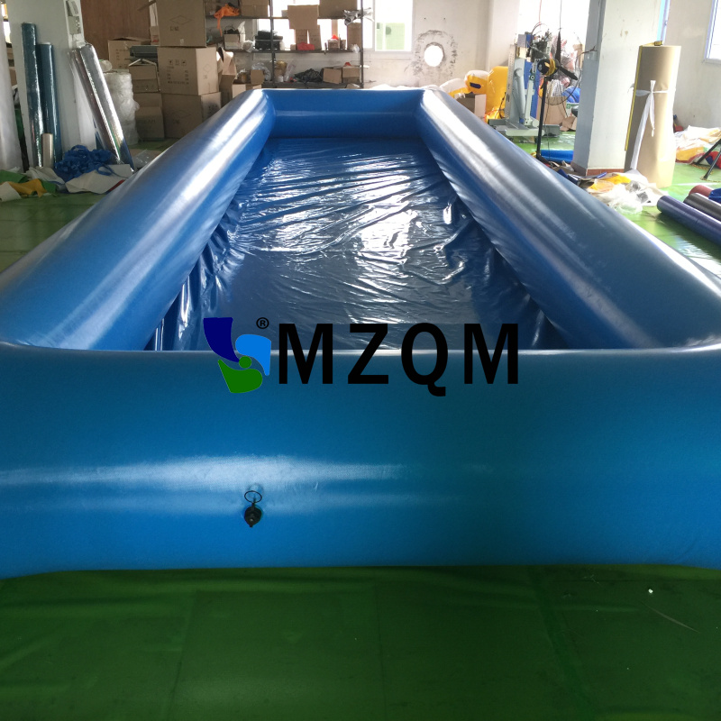 Mzqm 10 3m outdoor inflatable water games pvc tarpaulin large inflatable swimming pool for adult for Inflatable swimming pool for adults india