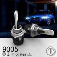 Super Car Styling Headlights Led Lamp Light Bulb 9005 9006 9012 White Led Lights For Car