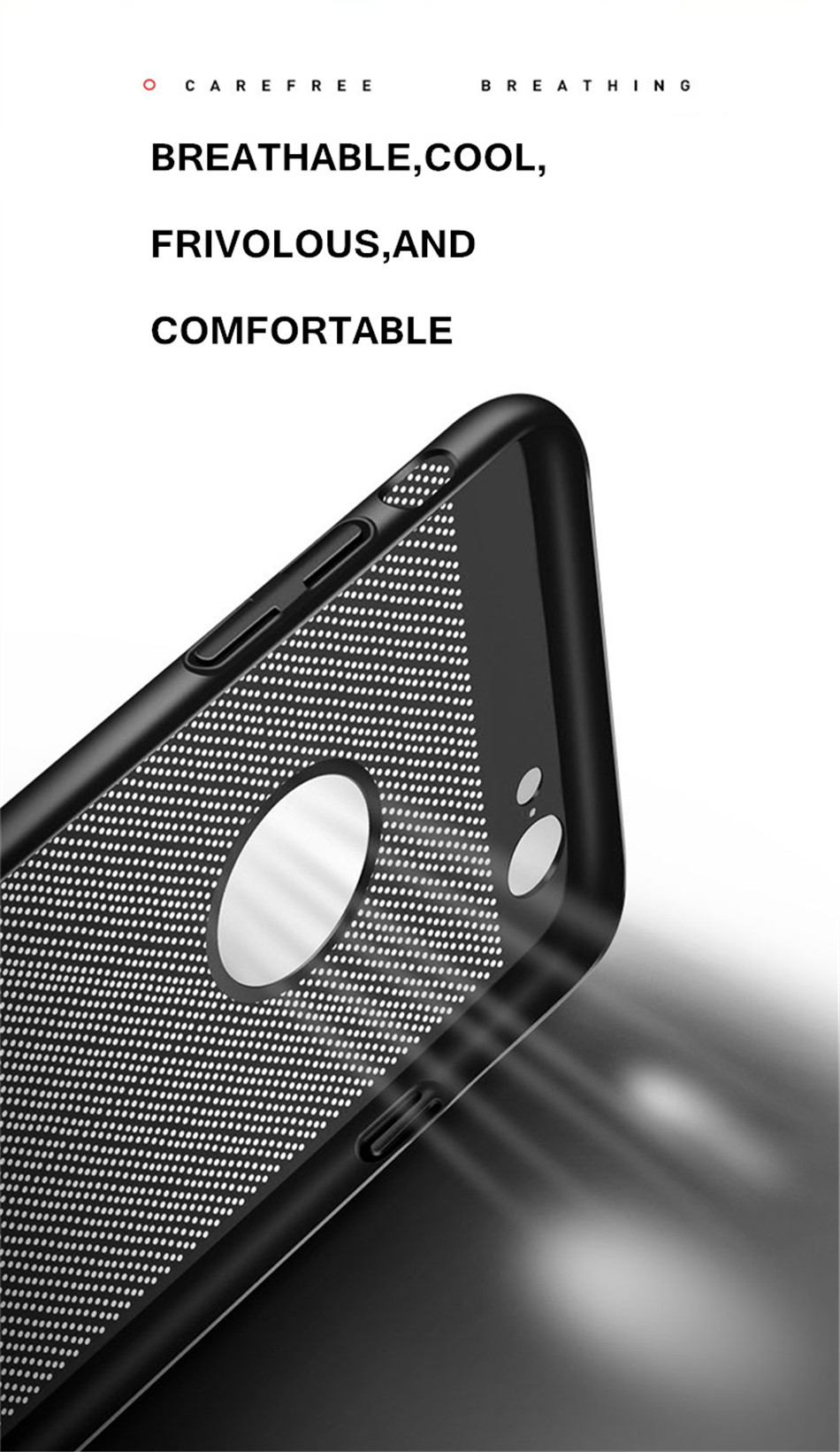 Heat dissipation iPhone Case - Hard Back PC Protect Shell 4