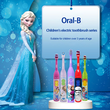 Children Electric Toothbrush Oral-B Teeth-Cleaner Sonic Power-Rotation Kids Cartoon Stage