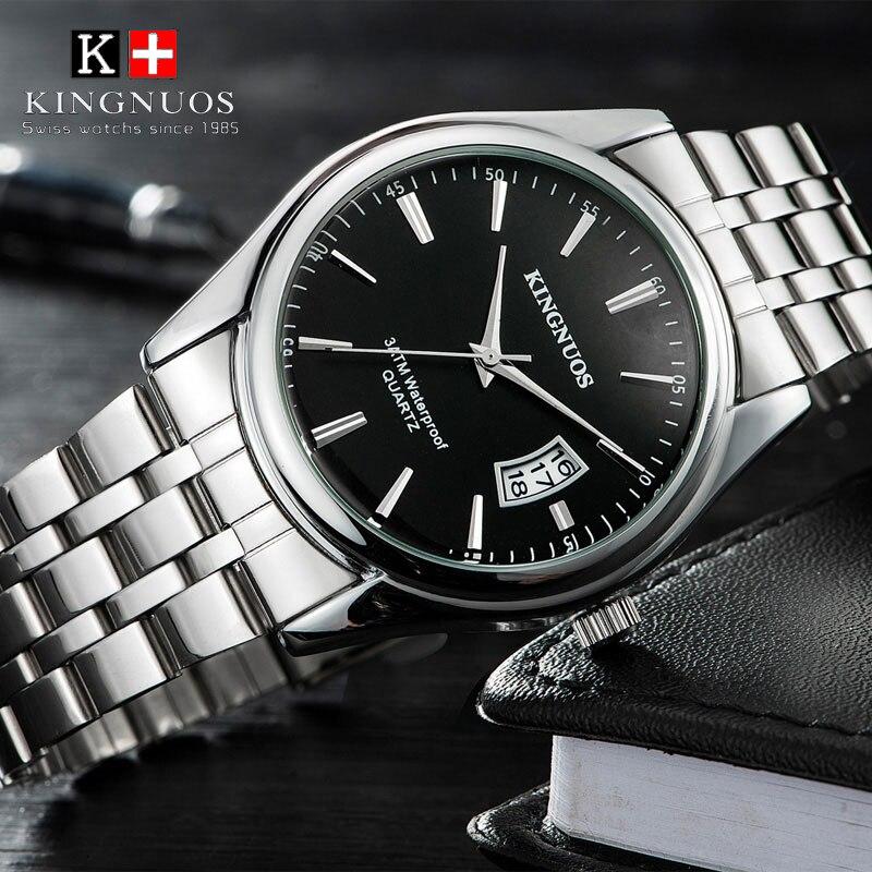 2018 Top Brand Hombres de Lujo del Reloj 30 m Impermeable Fecha Reloj Hombre Relojes Deportivos Hombres Reloj de Pulsera de Cuarzo Ocasional Relogio masculino