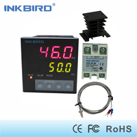 Inkbird ITC 106VH PID Temperature Controllers + K sensor + 40A SSR + heat sink, Solid State Relay for Sous Vide, thermocouple k