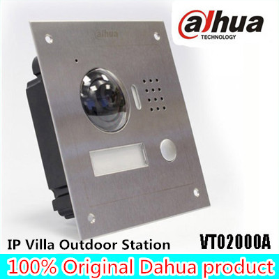 Dahua VTO2000A IP Metal Villa Outdoor Station Video Door Phone DAHUA POE P2P Metal Villa Outdoor Station Video Door bell ...
