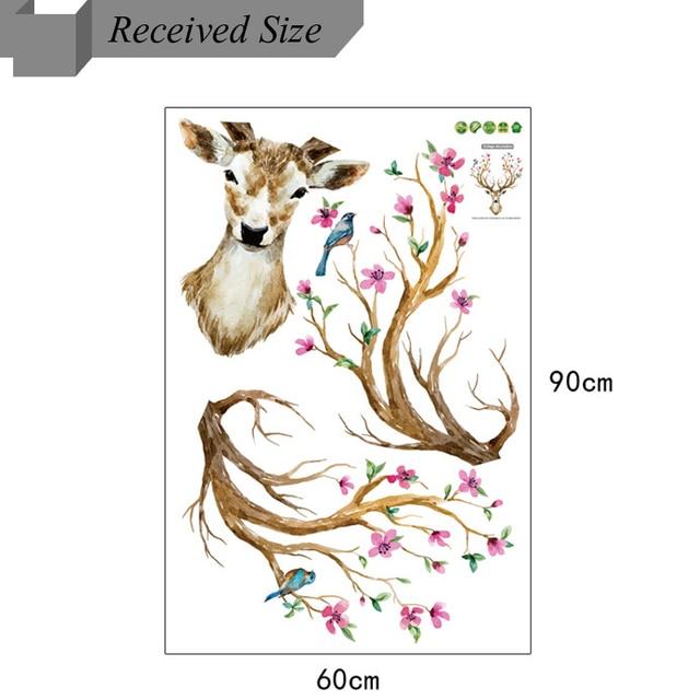Deer Head 38*31inch 97*80cm 4