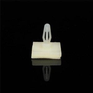 100 шт. HC-5 нейлоновая пластиковая палка на печатной плате прокладка Блокировка защелкивающиеся стойки фиксированные зажимы клей 3 мм Набор отверстий