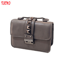 Hot Sale Women Bags Ladies Hasp Lock Shoulder Diagonal Chain Bags Mini Party Bags High Quality Messenger Bags 52zr