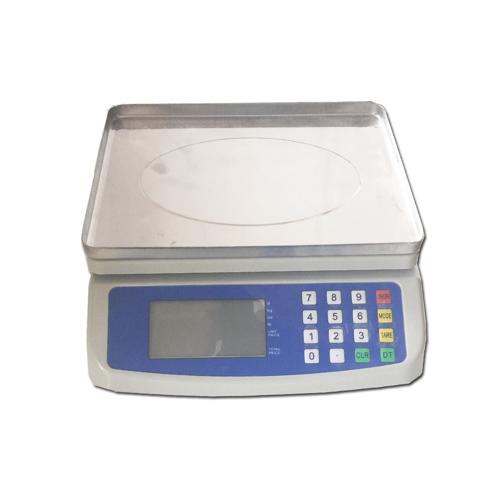 Oman-T580A 30kg electronic digital price computing weighing scale with figuring price function