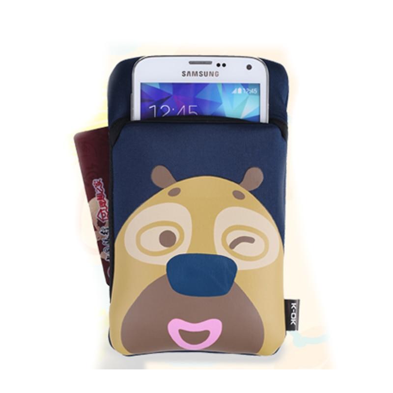 L neopren söt passet plånbok passet fodral hållare väska resa - Resetillbehör - Foto 2
