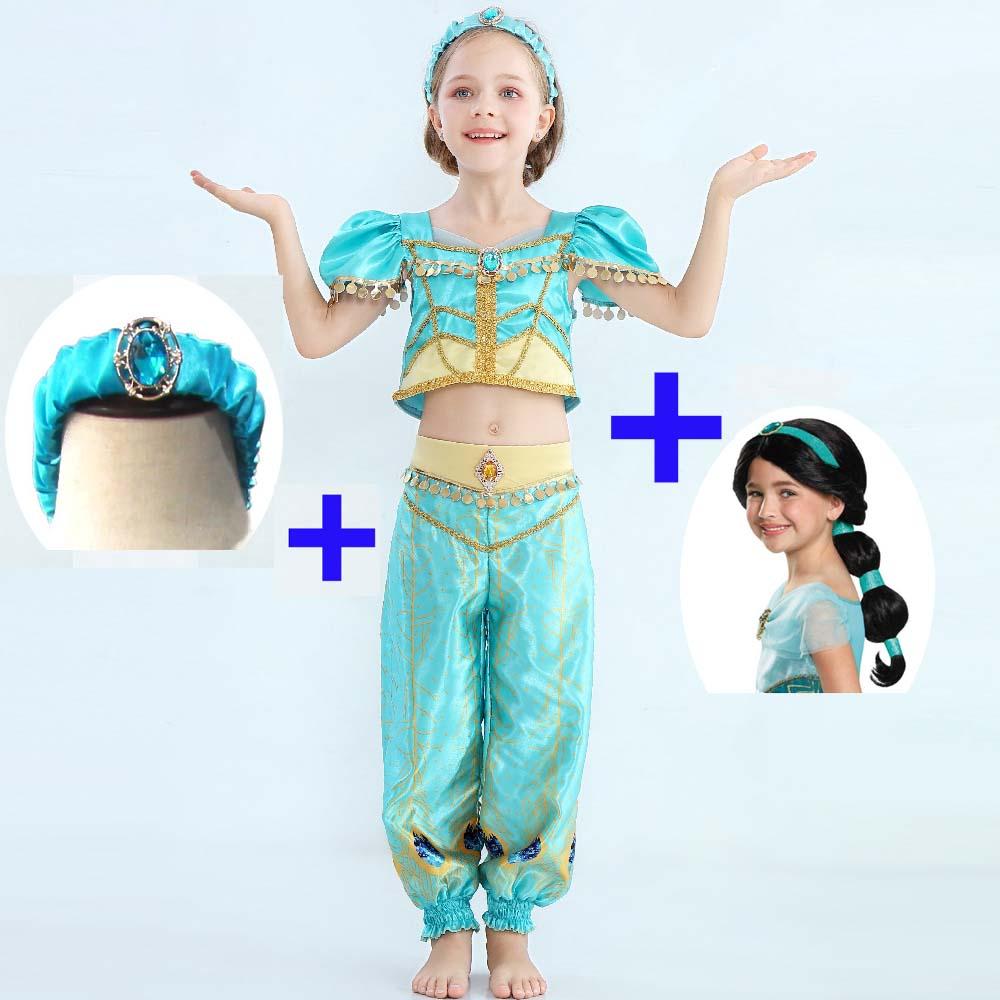Girls Deluxe Mermaid Princess Book Week Fancy Dress Costume Outfit