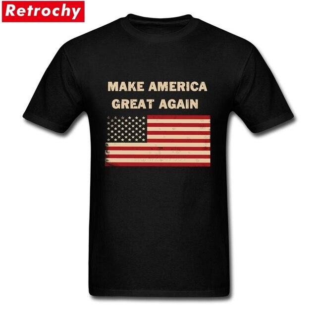 Cheap T Shirt Design Make America great again Custom Cotton Short ...