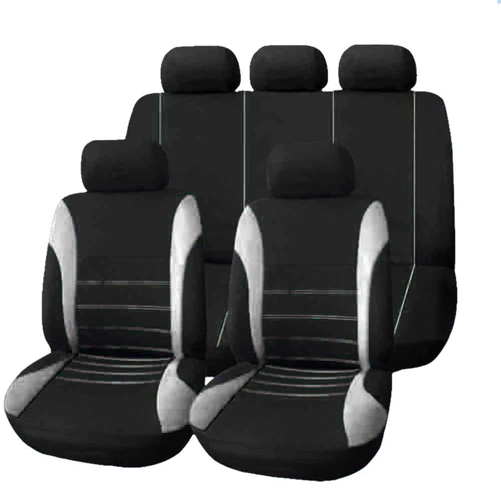 9 Set Full Seat Covers for font b Car b font Crossovers High Quality Universal Protect