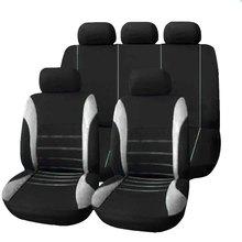 9 Unidades Completa Fundas Asientas de Coches Sedanes Crossover Proteger Cubierta Accesorios Seat Universal de Alta Calidad  Interior Diseño Decoración