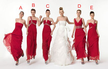 2015 New Hot Summer Fashion Beach Chiffon Long Bridesmaids Dresses W6012 Wedding Party Modern Romantic Charming Best Selling