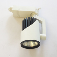 rail spotlight led 20W 85 265V Bridgelux COB spot led sur rail warm / neture / pure white track led rail