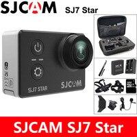 SJCAM SJ7 звезда экшн камера 4 К Спорт DV Wi Fi Ultra HD 2.0 Сенсорный экран 30 м Водонепроницаемый удаленного оригинальный SJ Cam Ambarella A12S75 действий Камера