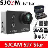 Venta SJCAM SJ7 estrella de acción Cámara 4K DV deportes WiFi Ultra HD 2,0 pantalla táctil impermeable 30m remoto Original SJ Cam Ambarella A12S75