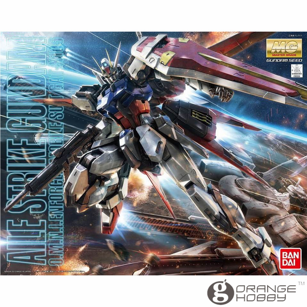 OHS Bandai MG 169 1/100 GAT-X105 Aile Strike Gundam Ver. RM Mobile Suit Assembly Model Kits ohs bandai mg 185 1 100 ppgn 001 gundam exia dark matter mobile suit assembly model kits