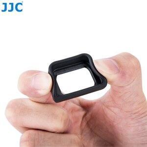 Image 5 - Jjc Zachte Oculair Eye Cup Voor Sony A6300 A6100 A6000 NEX 6 NEX 7 Vervangt FDA EP10 Oogschelp Dslr FDA EV1S Elektronische Zoeker