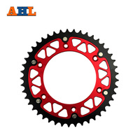 48T High Performance Motorcycle Steel Aluminum Composite Rear Sprocket For HONDA CRF450R CRF450 R 2002 2015