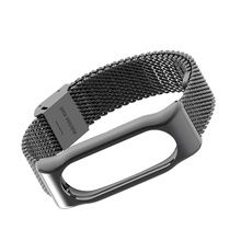 Original Mijobs Milanese Metal mi band 2 strap Bracelet Replace