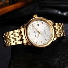 SEWOR Men Gold Skeleton Steel Mechanical Sport Watch Luxury Crystal Automatic Mechanical Watch For Men Fashion Wristwatch Clock