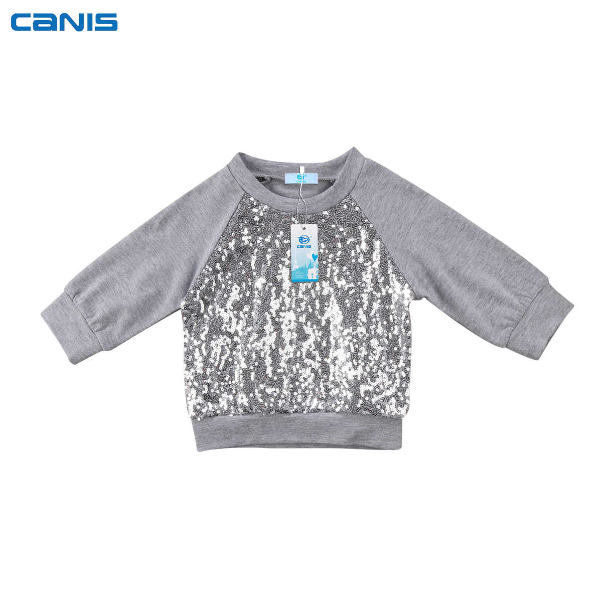 CANIS Newborn baby girl clothes Long Sleeve Top T-shirt Sweatshirt Outfits 0-24Months
