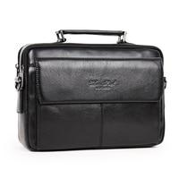 100 Ensure Genuine Leather Fashion Men Casual Fashion Shoulder Bag Bag
