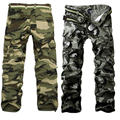 New Style Fashion Pocket Men's Camouflage Pants Casual Thickening Pants Cargo Pants  2 Colors LB