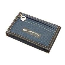 Причинно мальчика монет короткий молнии холст бумажник кошельки кошелек дизайн стиль