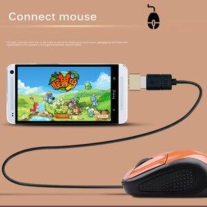 Image 3 - USB 3.0 Tipo C OTG Adattatore Micro USB OTG Converter Per Redmi Xiaomi Huawei Samsung Tastiera Mouse USB Flash disco Adattatore OTG