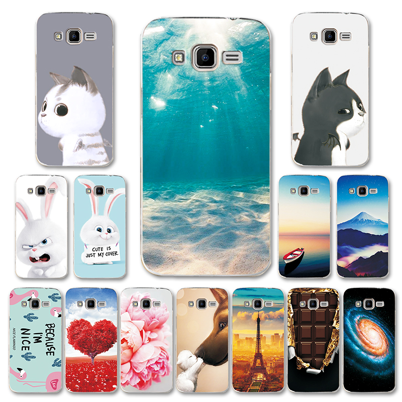 Phone Bags & Cases Izyeky Case For Samsung Galaxy Core Prime G360h G361h Sm-g360h Sm-g361h G360 G361 Moon Space Animal Bear Cat Cover