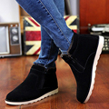 Men's Snow Boots Winter Ankle Boots Men Casual Velvet Flat Shoes High Top Warm Comfortable Martin Boots 67 ZYH