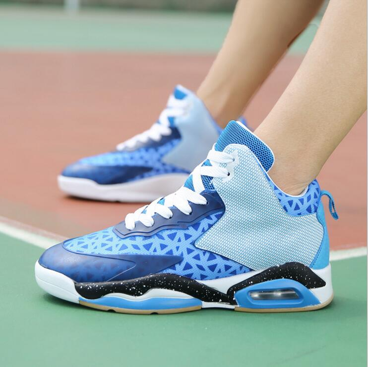 2017 New Arrival Air Max Mesh High Basketball Shoes Men Air cushion Breathable Sport Shoes Size US7--11( Eur40--45) peak sport professional men women basketball shoes cushion 3 revolve tech sneaker breathable athletic ankle boots size eur 40 48