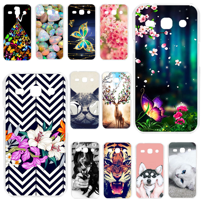 TAOYUNXI Phone Case for <font><b>Samsung</b></font> <font><b>Galaxy</b></font> <font><b>Star</b></font> <font><b>Advance</b></font> / <font><b>Star</b></font> 2 <font><b>G350E</b></font> SM-<font><b>G350E</b></font> Case Silicone Soft TPU Cool Cover Case Bumper image
