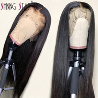 13*4 Lace Front Human Hair Wigs Straight Pre Plucked Hairline Baby Hair Glueless Wigs Peruvian Human Hair Lace Frontal Wigs Remy