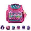 16 Models Brand Delune Girls School Bags Cartoon Backpacks Child Orthopedic School Supplies School Bags For Girls Kids Satchel