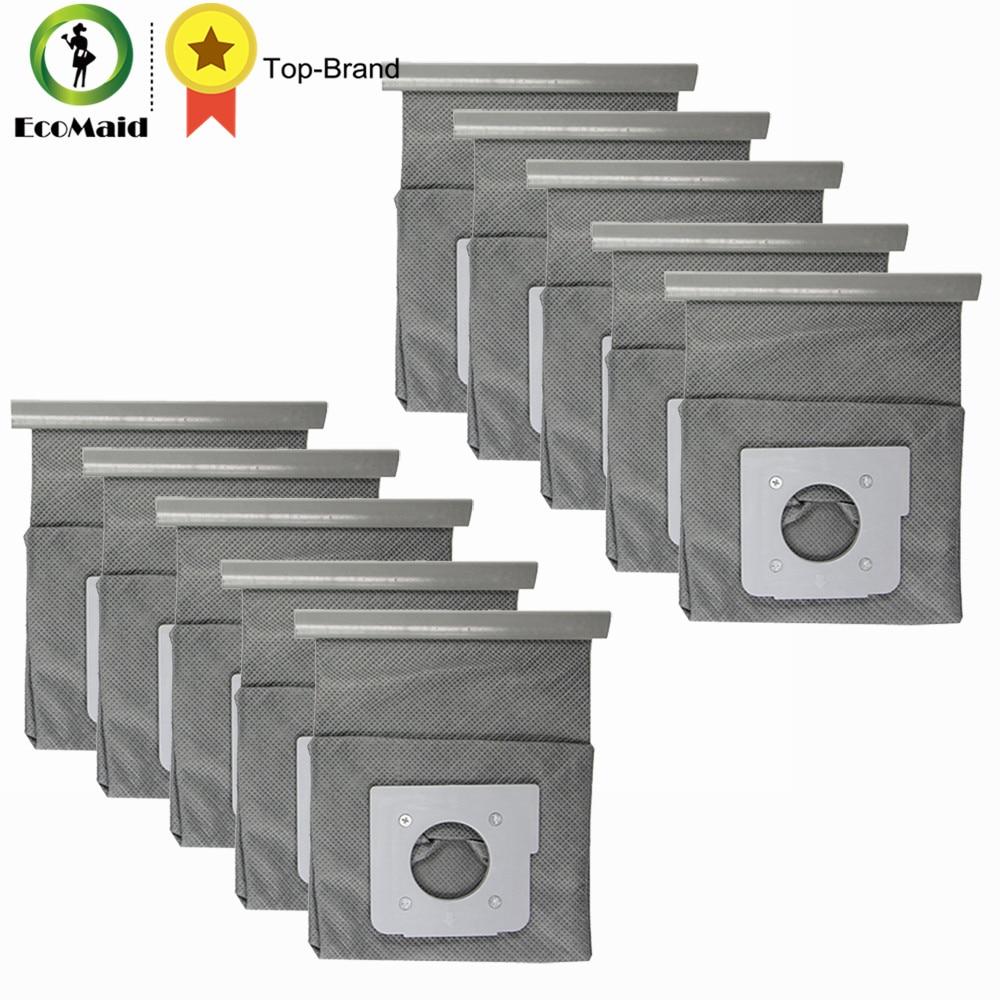 Sac à poussière Ordures Sac Filtre pour LG Aspirateur V-2810B V-2800RY Vide Sac Partie pour Rem Réutilisable Sac À Poussière Accessoire 10 pcs