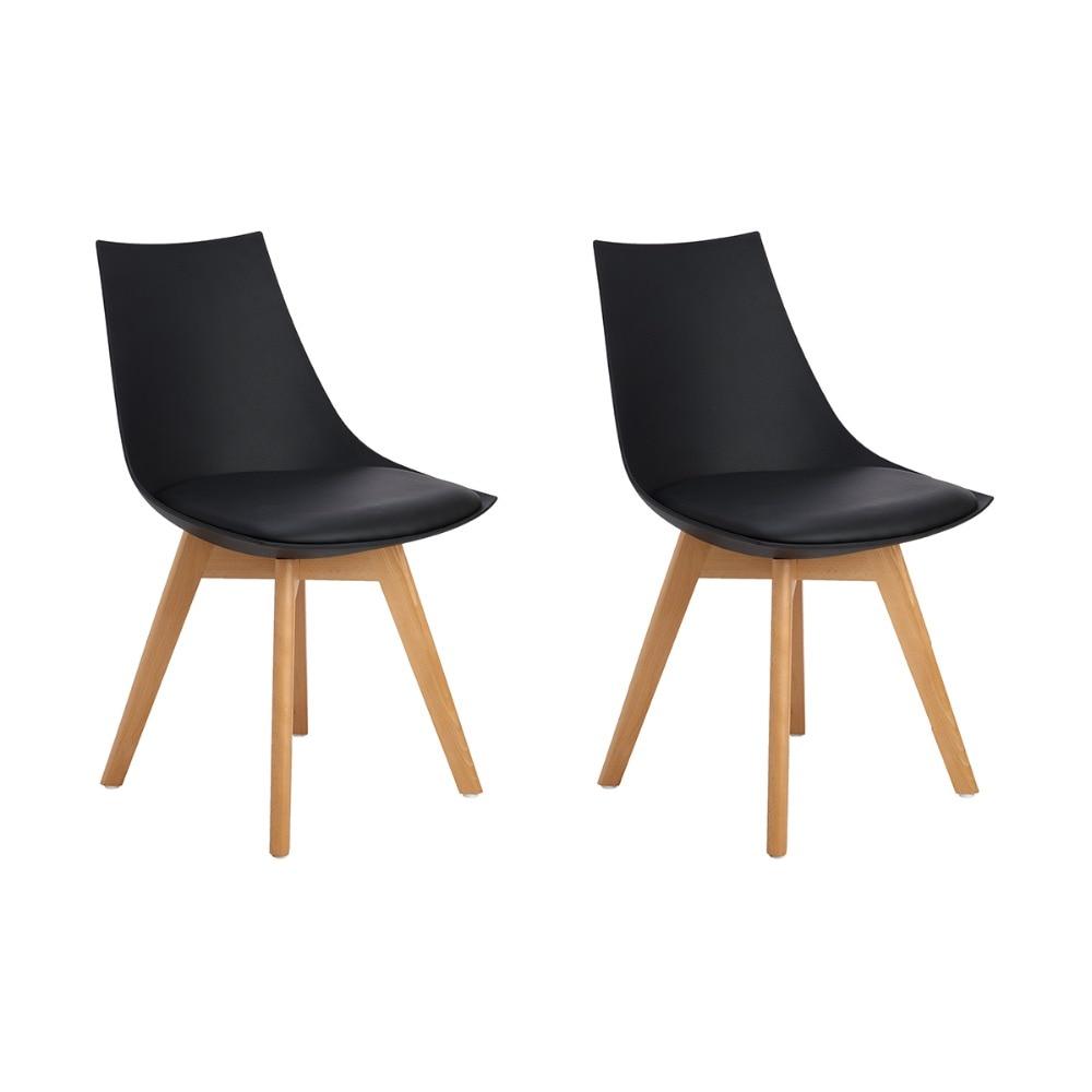 4 piece outdoor furniture set black
