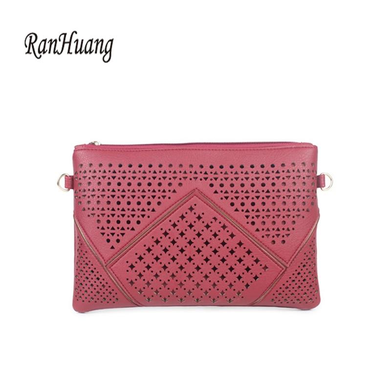 RanHuang női divat kuplung táskák Új 2017 kiváló minőségű PU - Kézitáskák