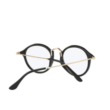 Round Metal Clear Lens Sunglasses RK