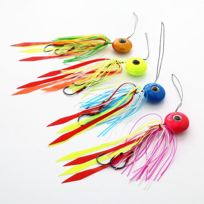 10pcslot  lead fish jig deep sea fishing lure 40g 60g 80g 100g 120g hard bait fishing lure