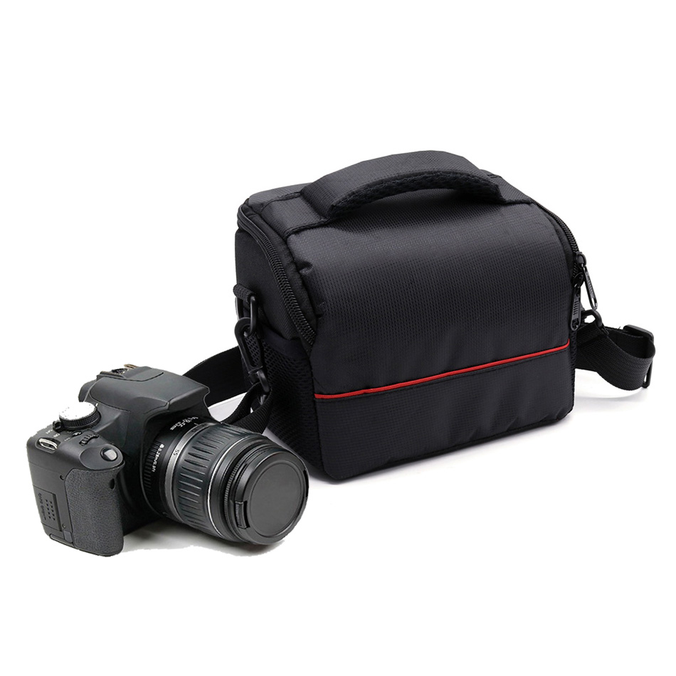 Camera Case Bag for Sony Alpha A9 A7 A7R A7S Mark III II A6500 A6300 A6000 A5100 A5000 HX400V HX350 HX300 HX200V H400 H300 H200 aydgcam brand genuine leather camera case for sony a9 a7r m3 a7r mark iii camera bag handmade half cover handle vintage case