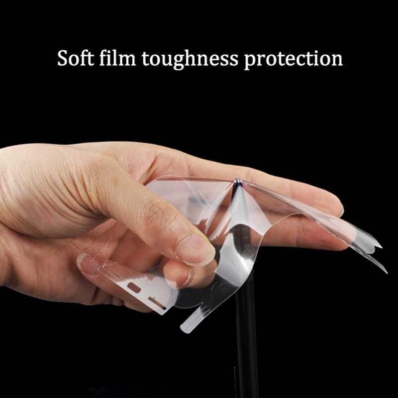 Hydrogels شفافة النفط مقاومة ملصق آيفون 11 6 6S 7 8Plus X Xr Xs ماكس ملصق الظهر ملصقات الجلد الزخرفية حامي