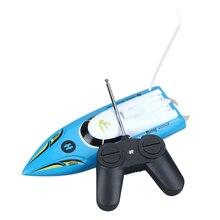 10 inch Mini RC Boat Radio Remote Control RTR Electric Dual Motor Toy Colour Blue