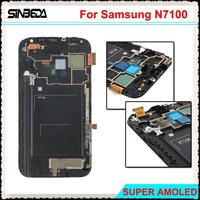 Sinbeda Super Amoled LCD Screen For Samsung Galaxy Note 2 N7100 LCD Display Touch Screen Digitizer