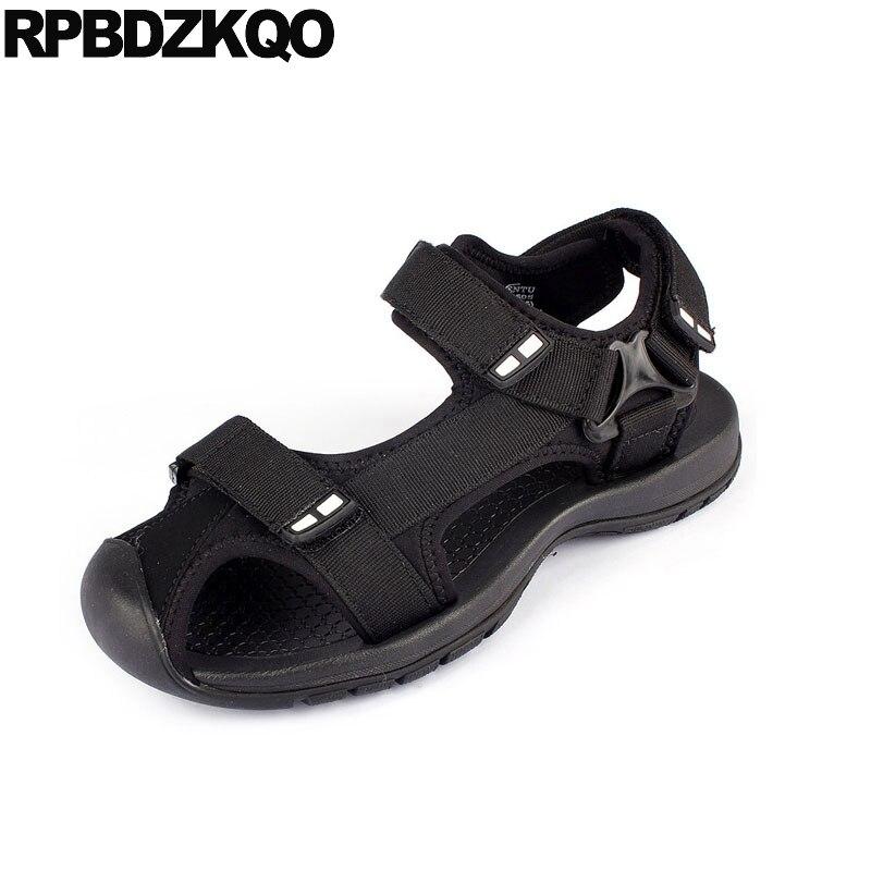 Outdoor Fashion Closed Toe Sandals Sneakers Size 45 Flat Black Beach Large Native Plus Mens Mesh Shoes Designer Sport Summer Big 1