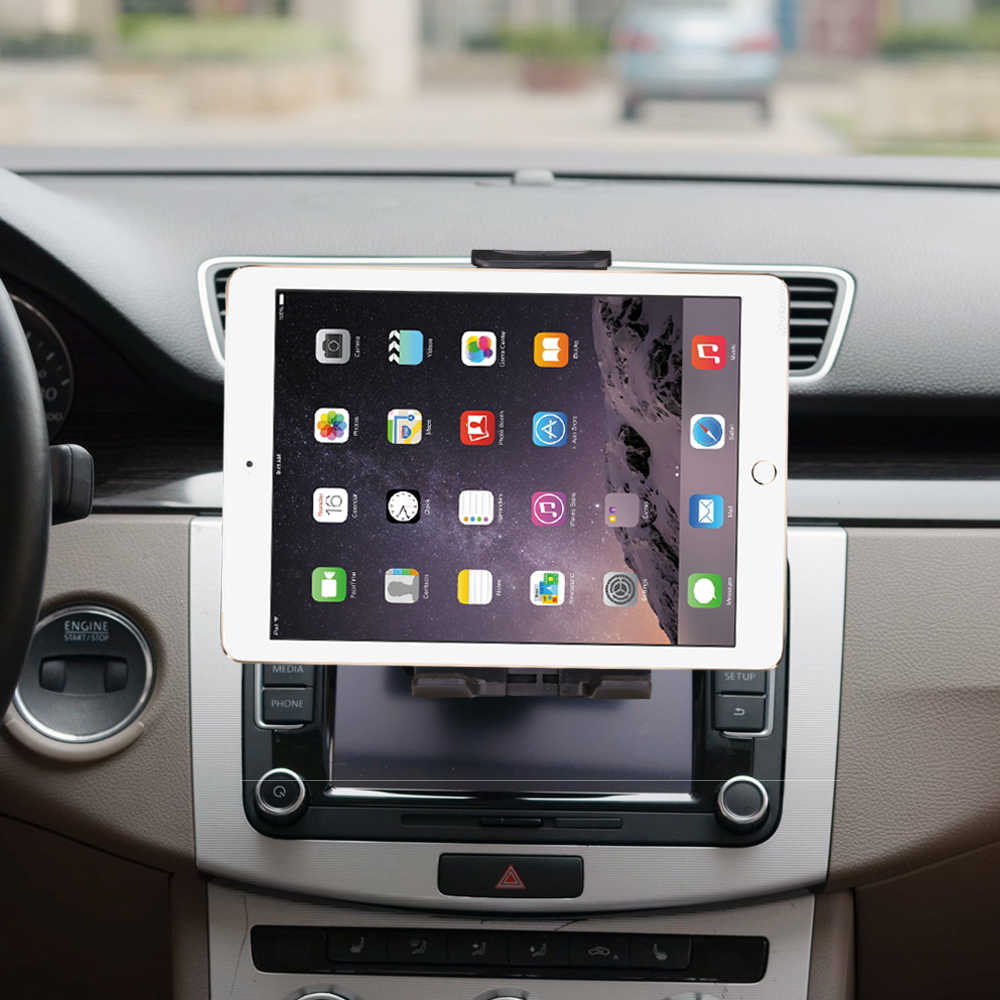 "Universal 7 8 9 10"" car tablet PC holder Car Auto CD Mount Tablet PC Holder Stand for iPad 2 3 4 5 6 Air 1 2 Tablet Car holder"